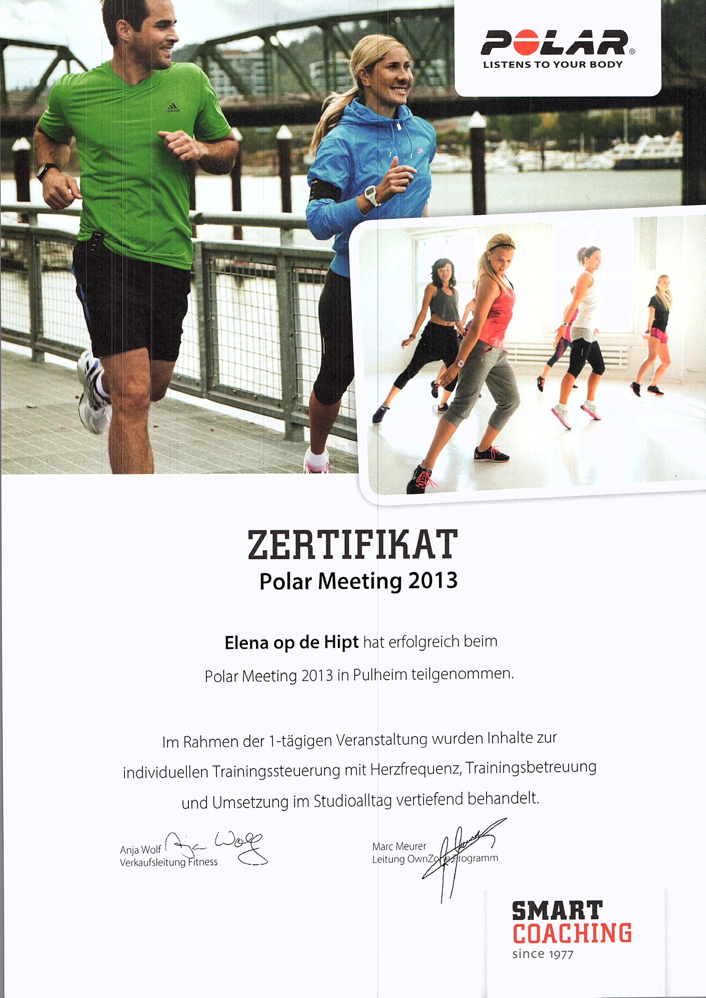 Polar Meeting 2013